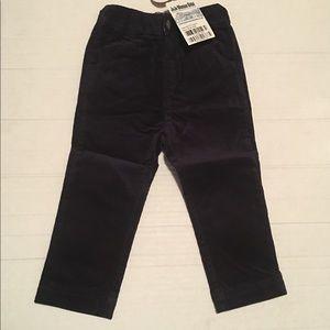 JoJo Maman Bebe Girls Corduroy Pants 18-24M Navy